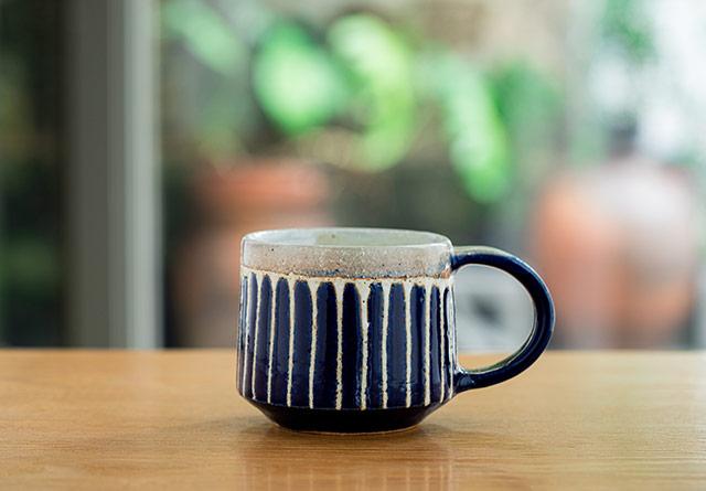 安里貴美枝さんのコーヒーカップ